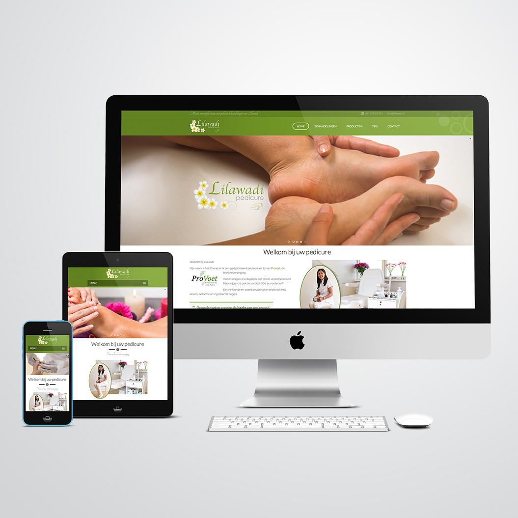 website voor pedicure Lilawadi